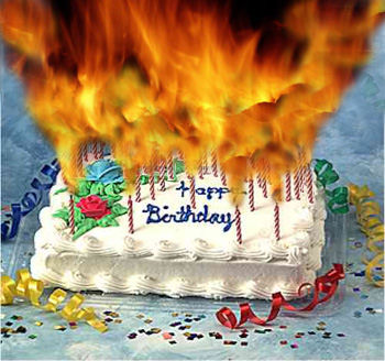 Birthday Cake Fire Funny Image Inspiration of Cake and Birthday